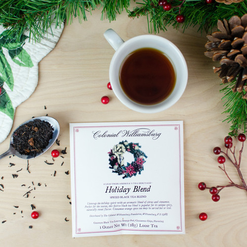 Colonial Williamsburg Holiday Tea Blend Envelope