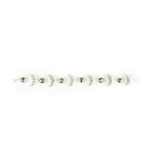 Seashell Pyrite Bracelet