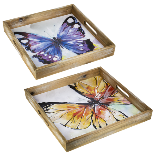 Butterfly Gallery Nested Trays   The Shops at Colonial Williamsburg