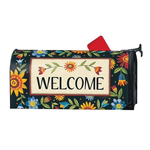 Floral Welcome Mailwrap | The Shops at Colonial Williamsburg