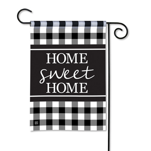 Black and White Check Garden Flag | The Shops at Colonial Williamsburg