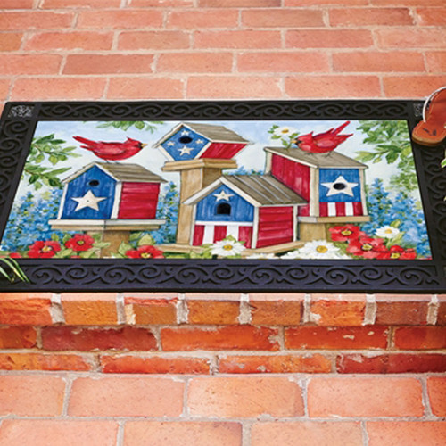 All American Birdhouses Doormat Insert
