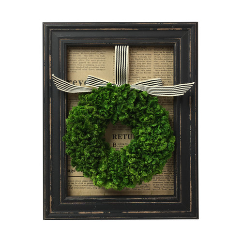 Preserved Wreath Framed   The Shops at Colonial Williamsburg