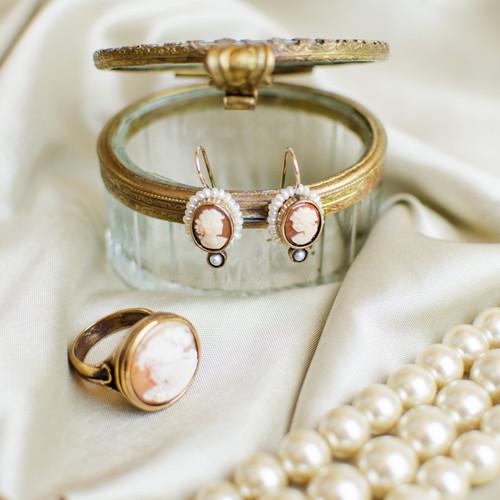 Cameo Shell Ring | The Shops at Colonial Williamsburg
