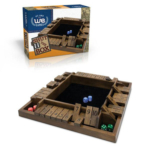 Travel Mini 4-Player Shut the Box Game | The Shops at Colonial Williamsburg