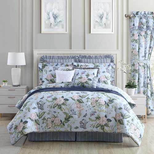Blue Garden Images Bedding - WILLIAMSBURG Bedding Collection by Royal Heritage | The Shops at Colonial Williamsburg