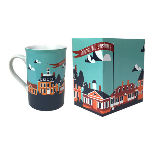 Colonial Williamsburg Townscape Gift Boxed Mug | The Shops at Colonial Williamsburg