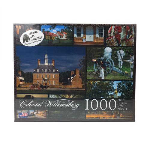 Frank Lee Ruggles Colonial Williamsburg 1,000 Piece Jigsaw Puzzle   The Shops at Colonial Williamsburg
