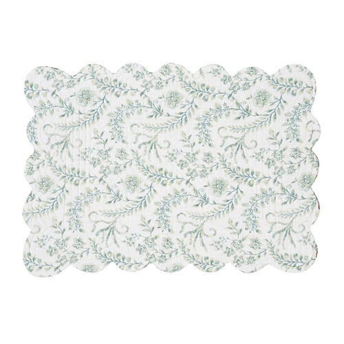Braganza Table Linens - rectangular placemat (reverse side) | The Shops at Colonial Williamsburg