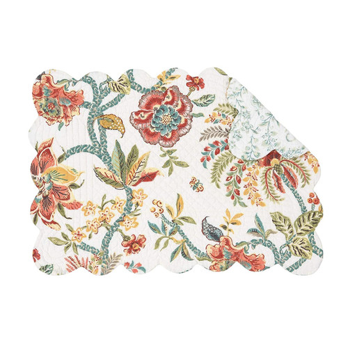 Braganza Table Linens - rectangular placemat   The Shops at Colonial Williamsburg