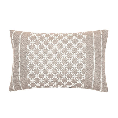 Markle Woven Accent Pillow - Clay | The Shops at Colonial Williamsburg