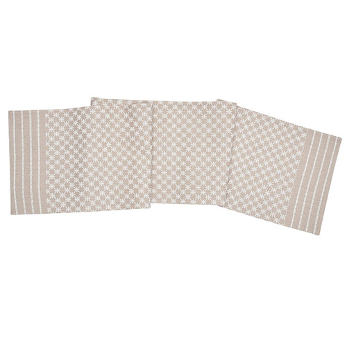 Markle Woven Table Linens - Clay - table runner | The Shops at Colonial Williamsburg