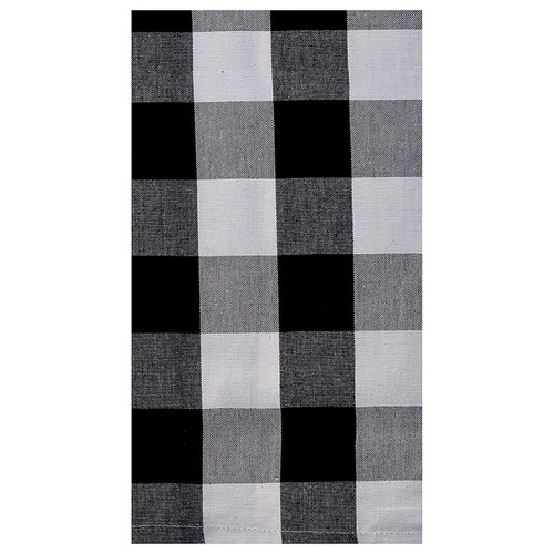 Franklin Buffalo Check Kitchen & Table Linens - Black and White - kitchen towel | The Shops at Colonial Williamsburg