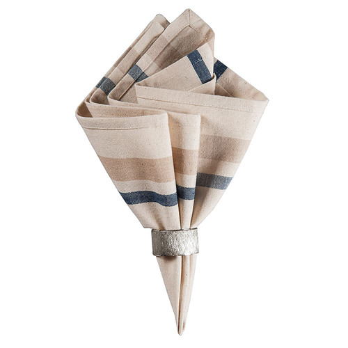 French Blue Stripe Table Linens - napkin | The Shops at Colonial Williamsburg