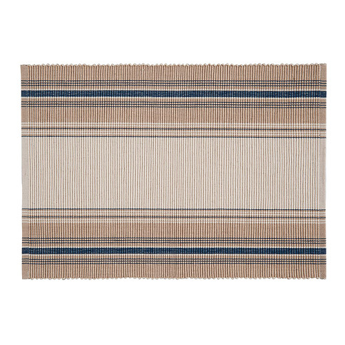 French Blue Stripe Table Linens - placemat | The Shops at Colonial Williamsburg