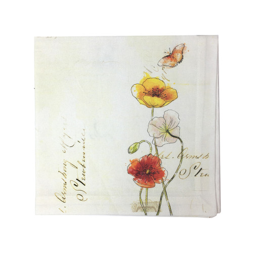 Poppies Table Linens | The Shops at Colonial Williamsburg