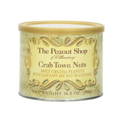 The Peanut Shop Crab Town Peanuts 10.5 Oz   The Shops at Colonial Williamsburg