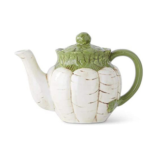 White Carrot Teapot | The Shops at Colonial Williamsburg