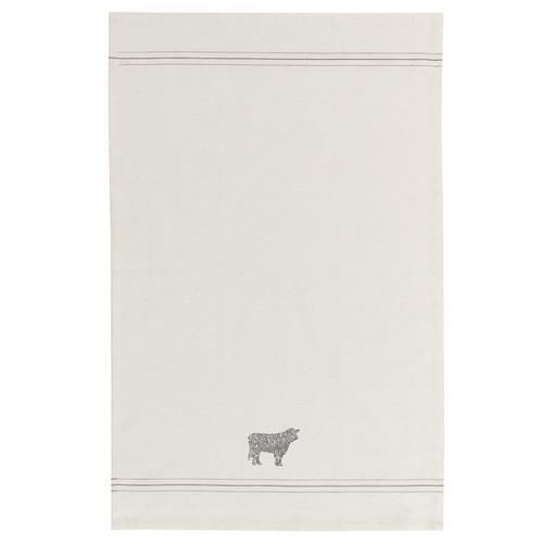 Cow Printed Dishtowel | The Shops at Colonial Williamsburg