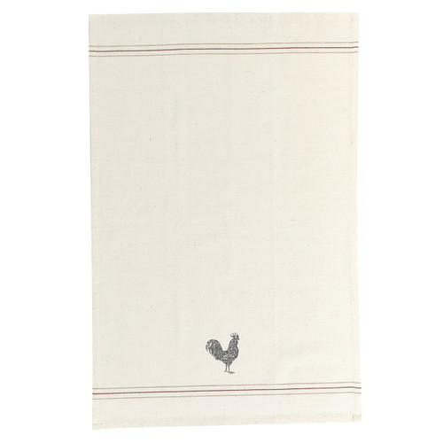 Rooster Printed Dishtowel | The Shops at Colonial Williamsburg