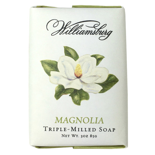 Garden Magnolia Soap Bar | The Shops at Colonial Williamsburg