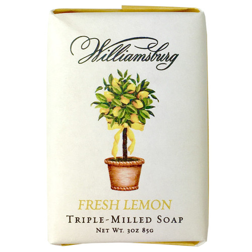 Fresh Lemon Soap Bar | The Shops at Colonial Williamsburg