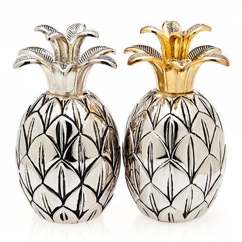 Silverplate Pineapple Salt and Pepper Set   The Shops at Colonial Williamsburg