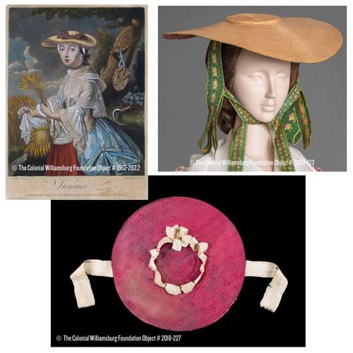 "18th Century Milan Straw Hat Blank - 5"" Brim   The Shops at Colonial Williamsburg"