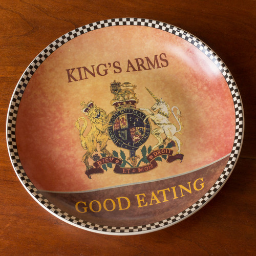 King's Arms Tavern Dessert Plate | The Shops at Colonial Williamsburg