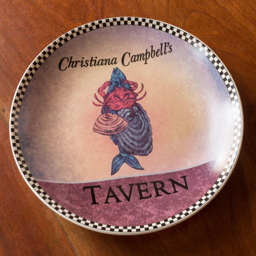 Christiana Campbell's Tavern Dessert Plate | The Shops at Colonial Williamsburg