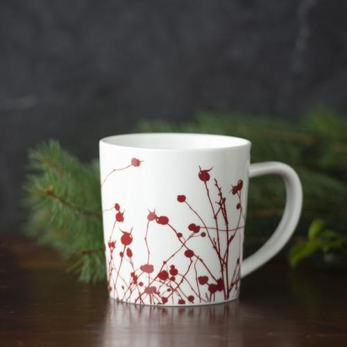 Caskata Winter Berries Mug