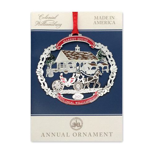 Colonial Williamsburg 2020 Annual Ornament - Market House | The Shops at Colonial Williamsburg