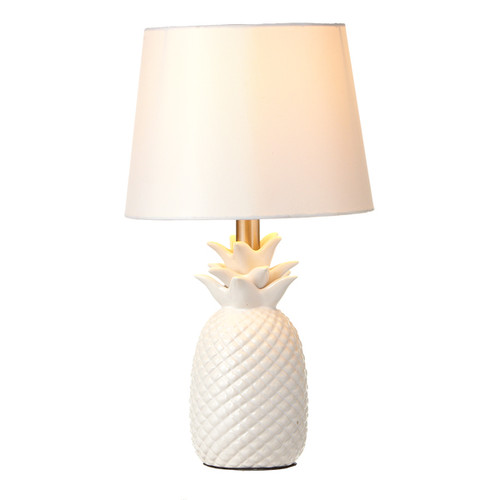 White Pineapple Lamp | The Shops at Colonial Williamsburg