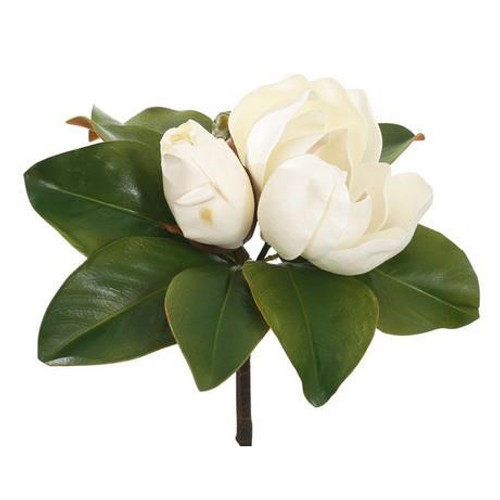 """Magnolia Blooms Pick - 12"""" 