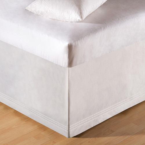 Tailored White Bedskirt - King  | The Shops at Colonial Williamsburg