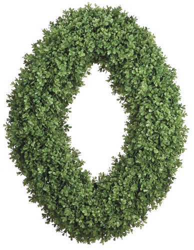 Oval Boxwood Wreath | The Shops at Colonial Williamsburg