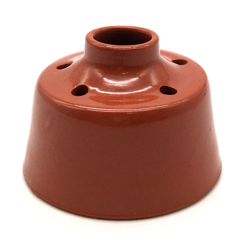 Red Earthenware Inkwell | The Shops at Colonial Williamsburg