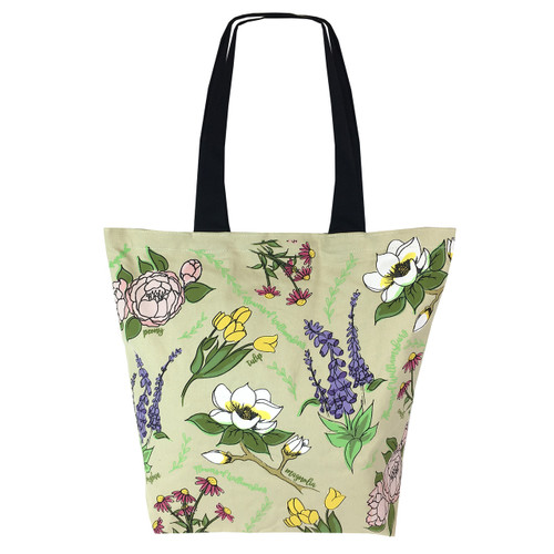 Wildflower Canvas Tote Bag | The Shops at Colonial Williamsburg