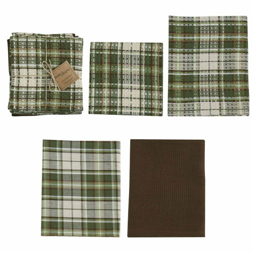 Cedarberry Kitchen Towels & Dish Cloth Set | The Shops at Colonial Williamsburg