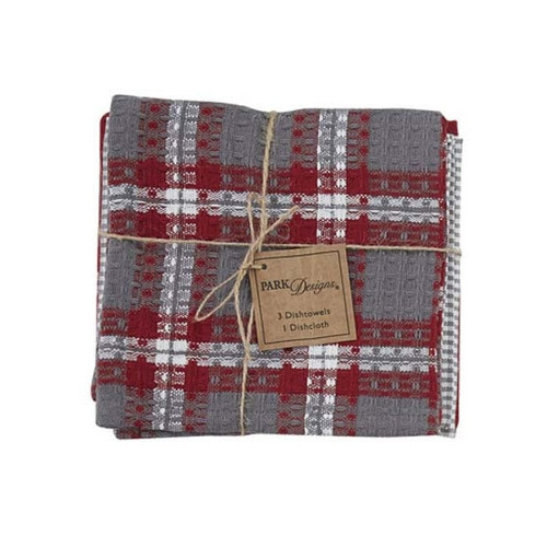 Farmhouse Holiday Kitchen Towels & Dish Cloth Set | The Shops at Colonial Williamsburg