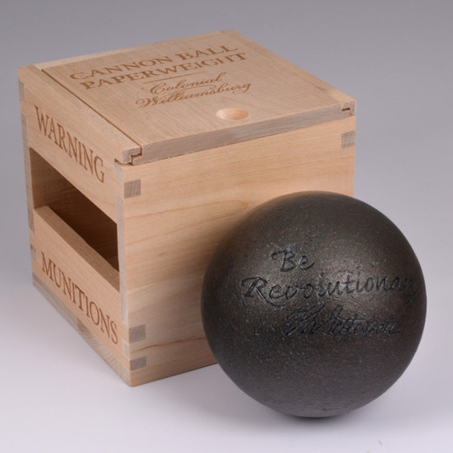 Cannonball Paperweight | The Shops at Colonial Williamsburg