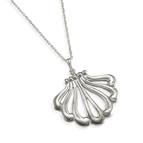 Anthemion Sterling Silver Pendant | The Shops at Colonial Williamsburg