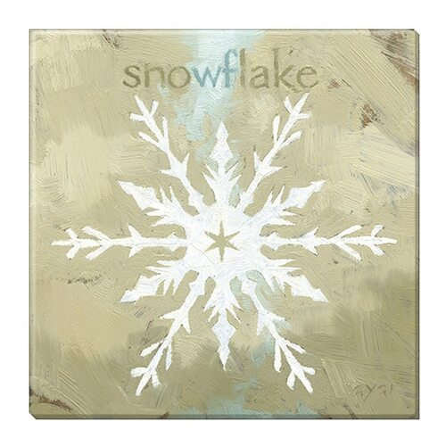 """""""Snowflake Crystal"""" Canvas Giclee Print by Darren Gygi   The Shops at Colonial Williamsburg"""