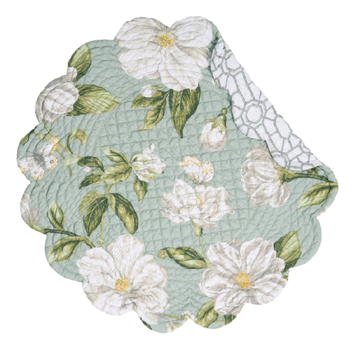 Magnolia Garden Round Placemat | The Shops at Colonial Williamsburg