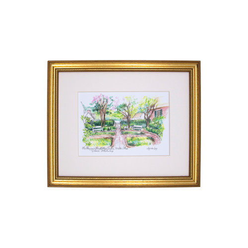 Benjamin Powell Farm Garden Framed Print by Marcia Long | The Shops at Colonial Williamsburg