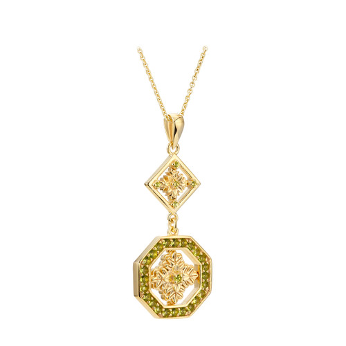 Ornate Flower Pendant  | The Shops at Colonial Williamsburg