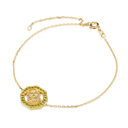 Ornate Flower Bracelet | The Shops at Colonial Williamsburg