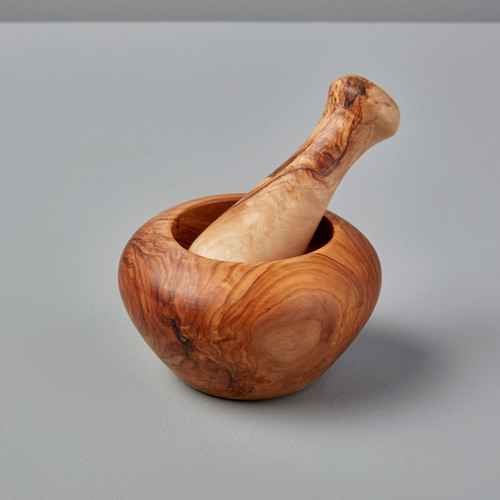 Olive Wood Mortar & Pestle | The Shops at Colonial Williamsburg