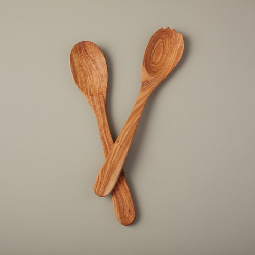 Olive Wood Serving Set   The Shops at Colonial Williamsburg