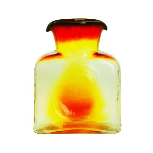 Blenko Glass 384 Tangerine Water Bottle   The Shops at Colonial Williamsburg